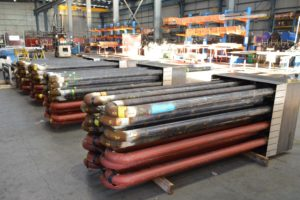 Fabricated In bed coils for fluidised bed boiler welding steel