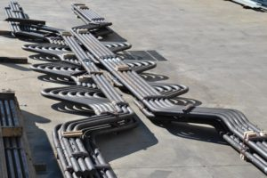 Main Burner boiler tube bends