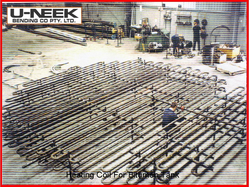 Coil Boiler Design ~ Heating coil for bitumen tank uneek australia