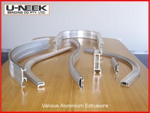 Aluminium Extrusion Bends Various by Uneek Bending