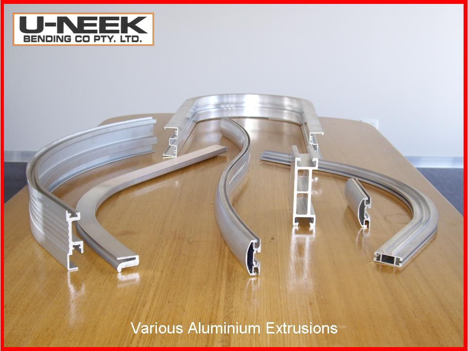 Aluminium Extrusion Bends Various by Uneek Bending