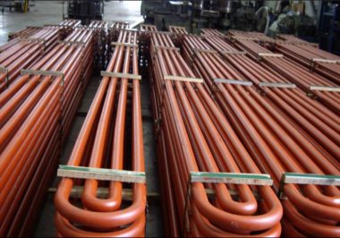 Economiser elements for 500MW Power Boiler Loy yang