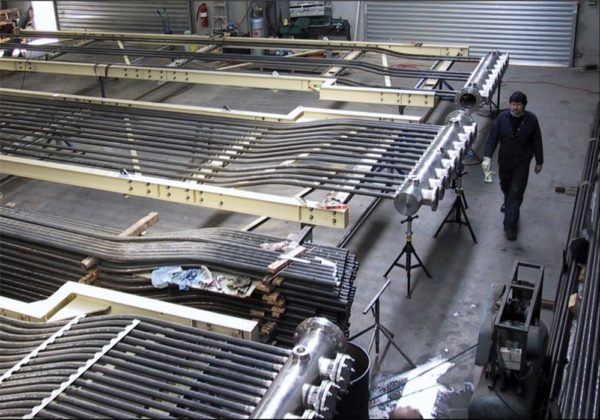 Quenos furnace manufacture plastics