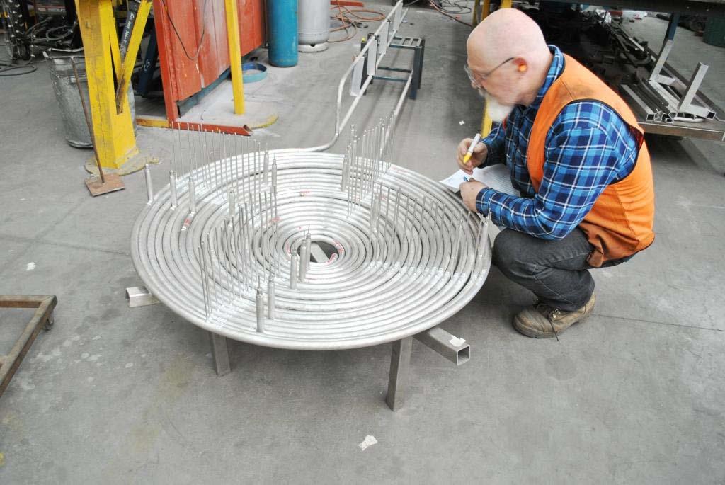 CSIRO-radiant-heater-pancake-coil-steam-generator