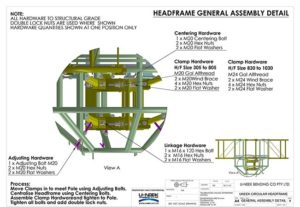 General Assembly Detail design steel engineers welding rolling bending