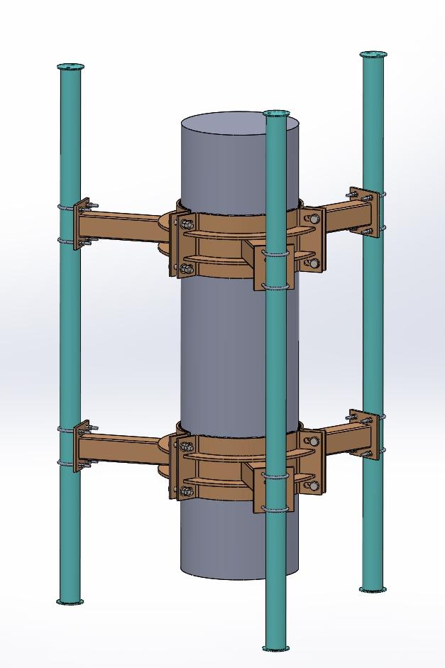 Headframe-JM9685-Lower-Level-RU-Mount